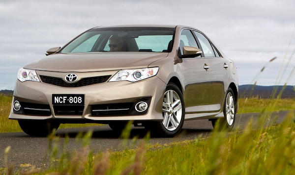 Toyota Camry Australia December 2013. picture courtesy of themotorreport.com.au