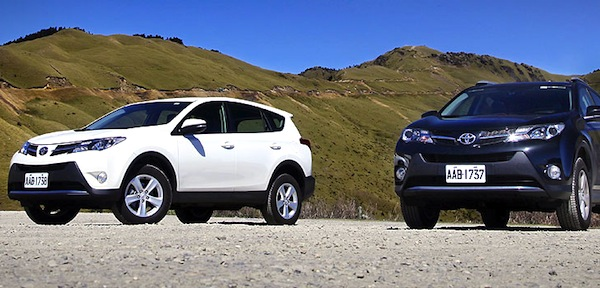 Toyota RAV4 Taiwan 2013. Picture courtesy of u-car.com.tw