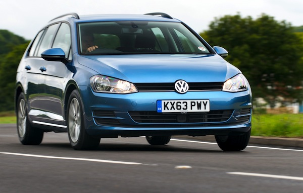 VW Golf UK April 2014