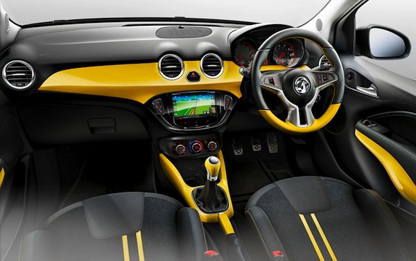 Vauxhall Adam Slam interior