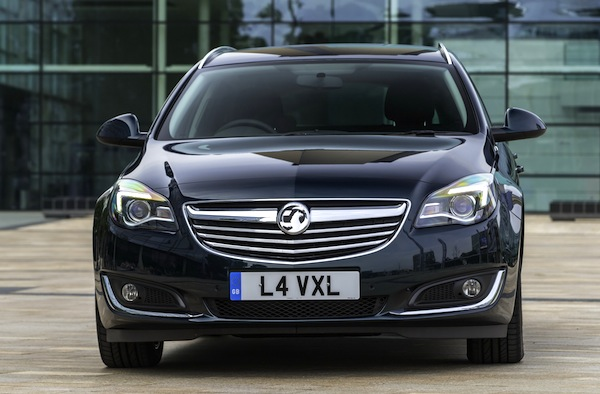 Vauxhall Insignia UK December 2013