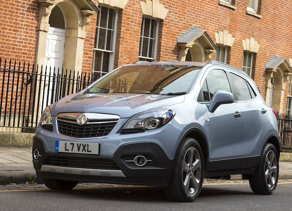 Vauxhall Mokka UK 2014