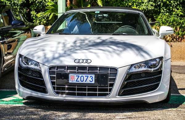 Audi R8 Monaco 2013. Picture courtesy of Anthony Gonzalez