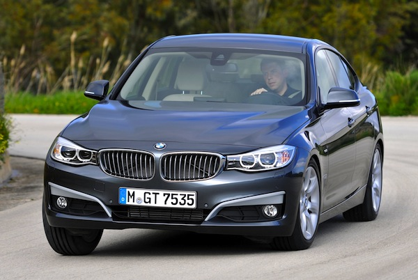 BMW 3 Series GT Netherlands Janaury 2014