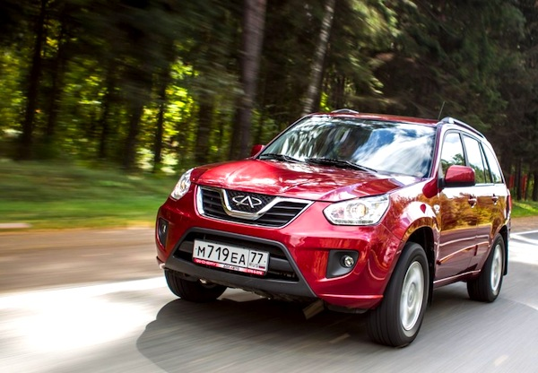 Chery Tiggo FL Russia 2013. Picture courtesy of zr.ru