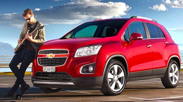 Chevrolet Tracker Colombia 2013