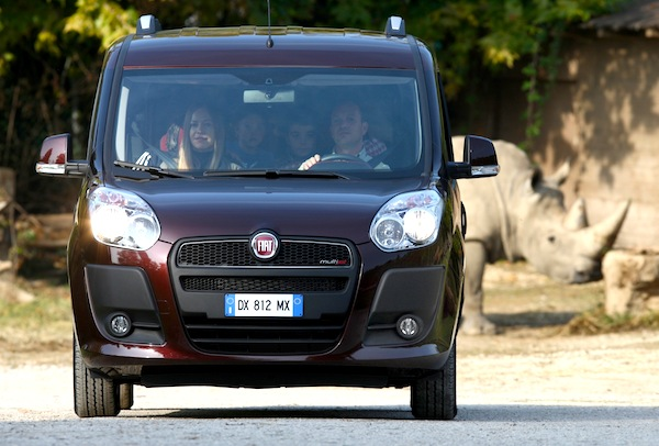 Fiat Doblo Turkey January 2014