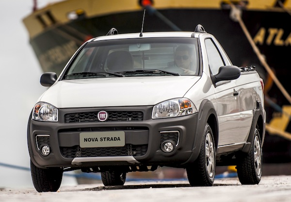 Fiat Strada Brazil January 2014