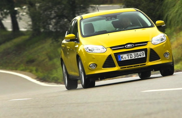 Ford Focus Latvia 2013