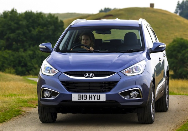 Hyundai ix35 UK August 2014