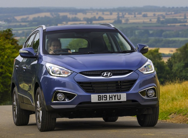 Hyundai ix35 Ireland July 2014