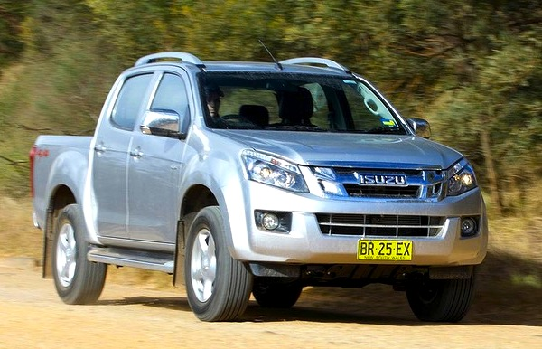 Isuzu D-Max New Caledonia 2013. Picture courtesy of news.com.au