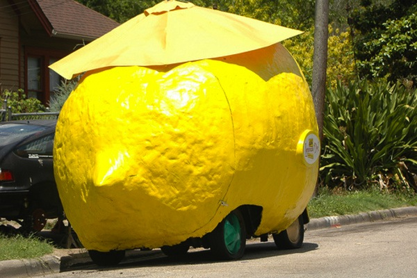 Lemon Car. Picture courtesy of thecollegedriver.com