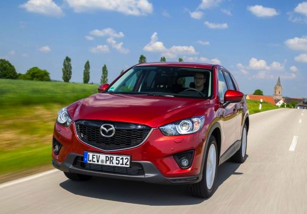 Mazda CX-5 Switzerland January 2014. Picture courtesy of autobild.de