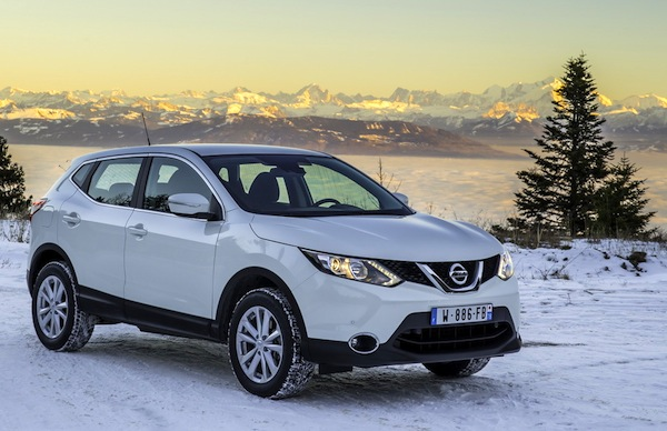 Nissan Qashqai Norway April 2014. Picturce courtesy of largus.fr