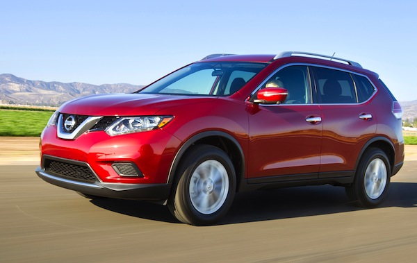 Nissan Rogue USA January 2014. Picture courtesy of motortrend.com