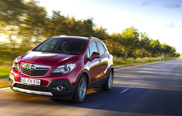 Opel Mokka Austria January 2014. Picture courtesy of car-addicts.com