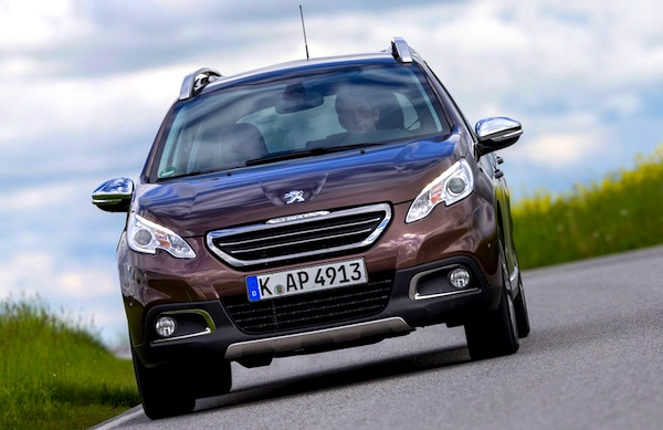 Peugeot 2008. Europe January 2014. Picture courtesy of autobild.de