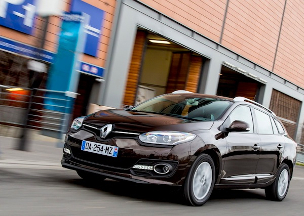 Renault Megane Estate Netherlands 2013. Picture courtesy of largus.fr