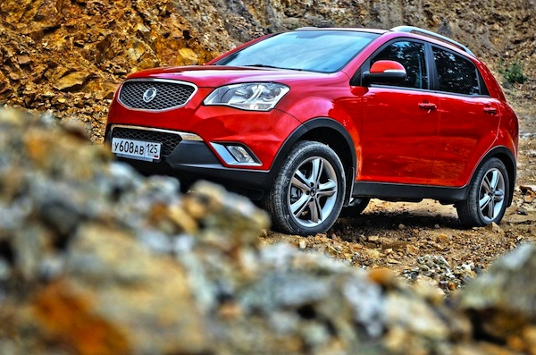SsangYong Actyon Chile 2013. Picture courtesy of avtoclon.ru