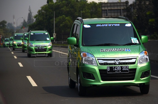 Suzuki Karimun Wagon R Indonesia January 2014