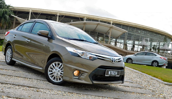 Toyota Vios is estimated to be the best-selling nameplate in Brunei