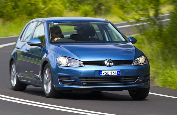 VW Golf New Zealand January 2014. Picture courtesy of caradvice.com.au