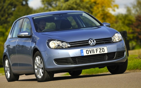 VW Golf used car UK