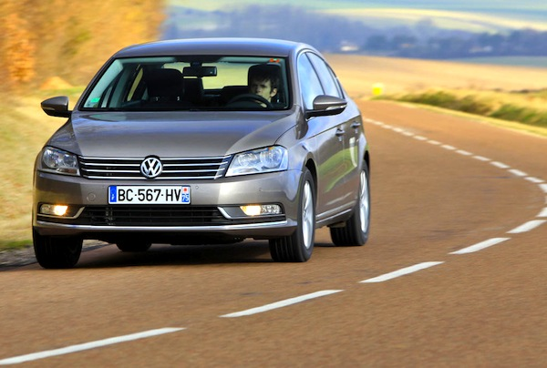 VW Passat Poland March 2014. Picture courtesy of largus.fr