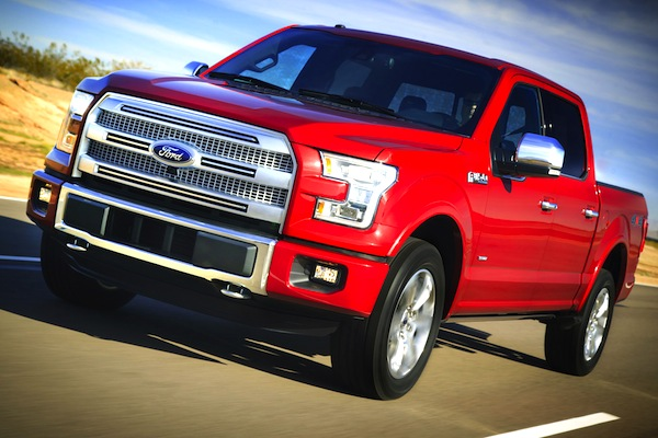 2015 Ford F-150 World 2013