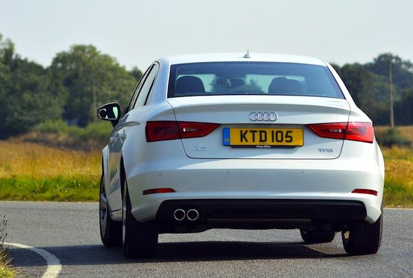 Audi A3 UK February 2014