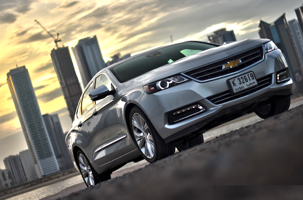 Chevrolet Impala Gulf 2013. Picture courtesy of motoringme.com