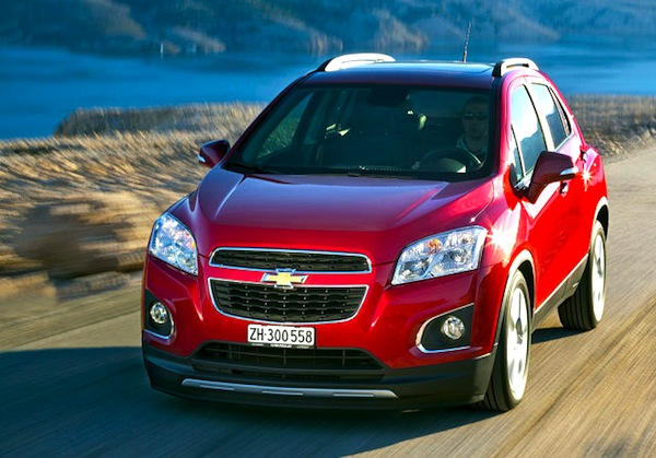 Chevrolet Trax Germany February 2014