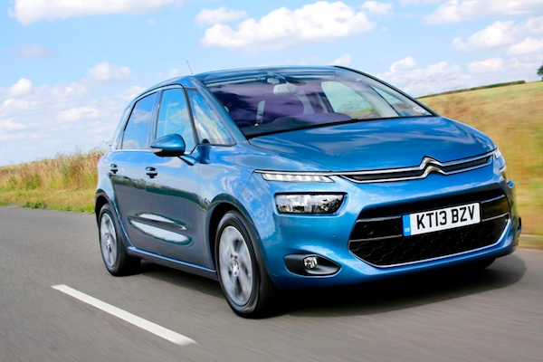 Citroen C4 Picasso UK February 2014