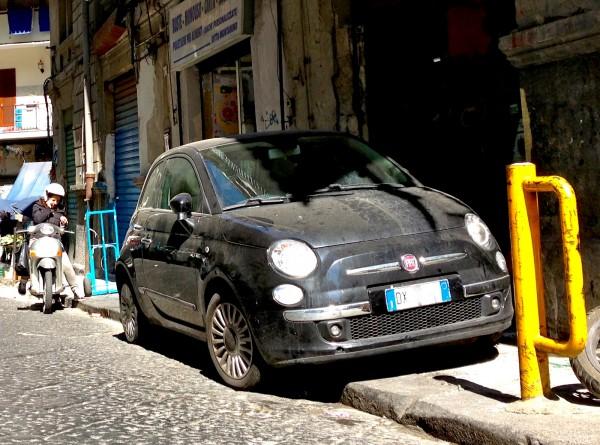 Fiat 500 Napoli March 2014