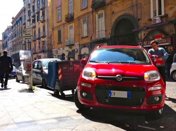 Fiat Panda Napoli March 2014