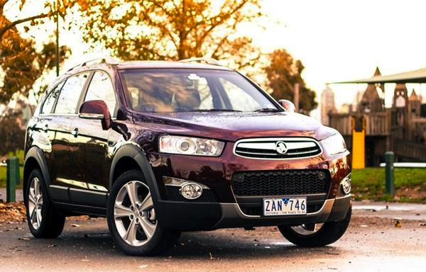Holden Captiva New Zealand February 2014. Picture courtesy of carshowroom.com.au