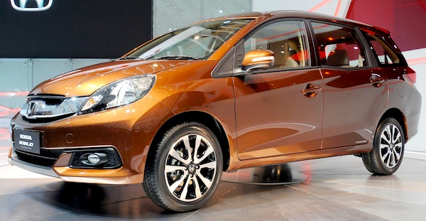 Honda Mobilio Indonesia February 2014b
