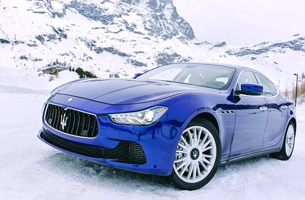 Maserati Ghibli Switzerland February 2014. Picture courtesy of autobil.dde