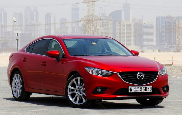 Mazda6 Oman January 2014. Picture courtesy of drivearabia.com