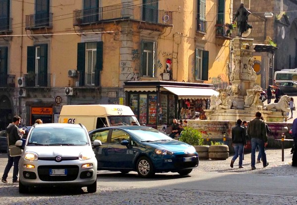 Napoli street 2 March 2014