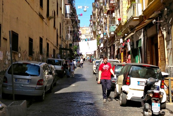 Napoli street March 2014