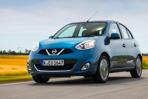 Nissan Micra Ireland February 2014. Picture courtesy of largus.fr