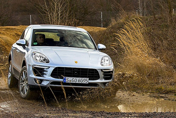Porsche Macan Germany February 2014. Picture courtesy of autobild.de