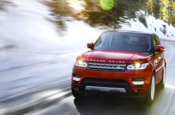 Range Rover Sport Italy January 2014. Picture courtesy of largus.fr