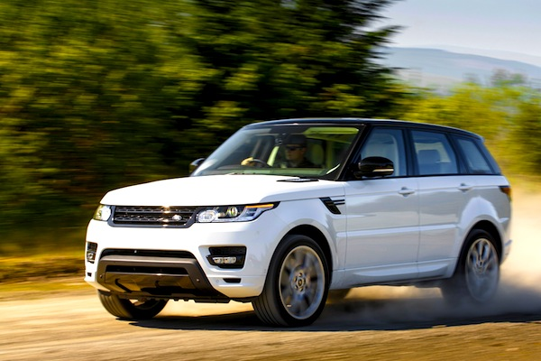 Range Rover Sport Romania February 2014. Picture courtesy of motortrend.com