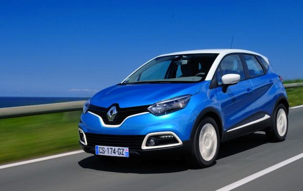 Renault Captur UK February 2014. Picture courtesy of autoexpress.co.uk