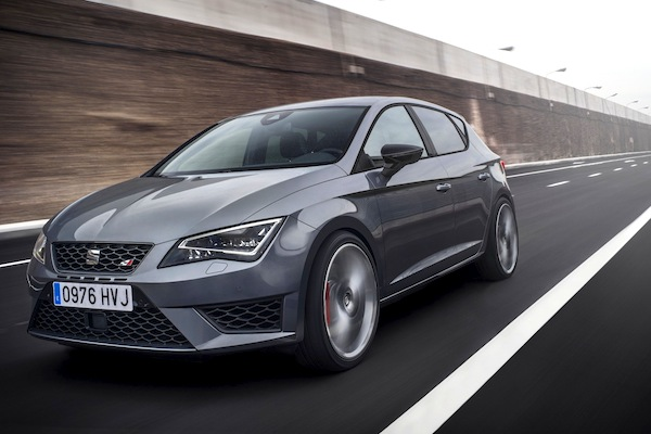 Seat Leon Czech Republic May 2014. Picture courtesy of largus.fr