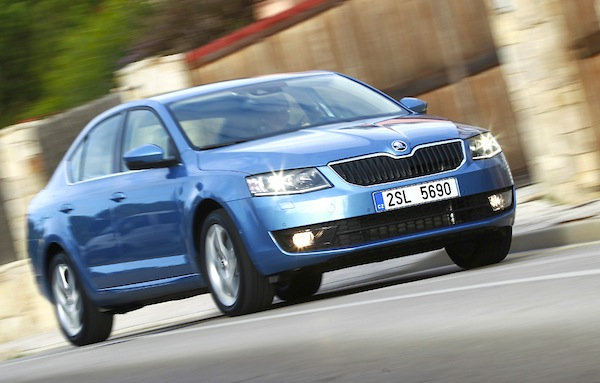 Skoda Octavia Finland 2014. Picture courtesy of automobile-magazine.fr