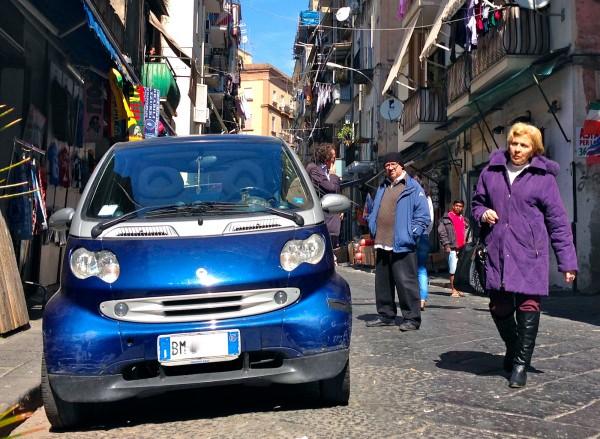 Smart Fortwo Napoli March 2014